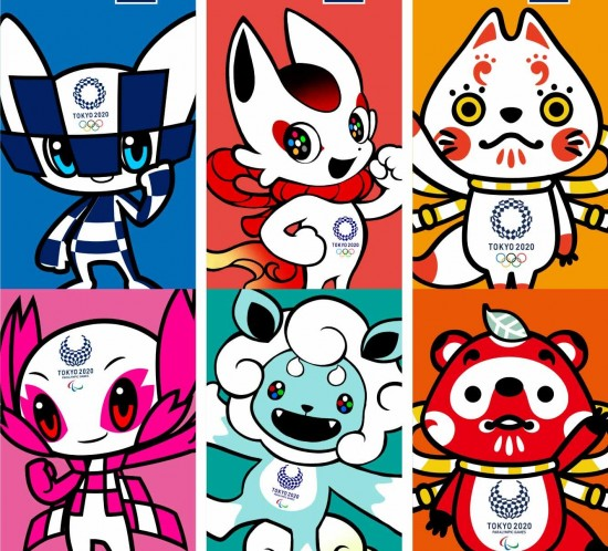 2020-Olympic-mascot-candidates-1